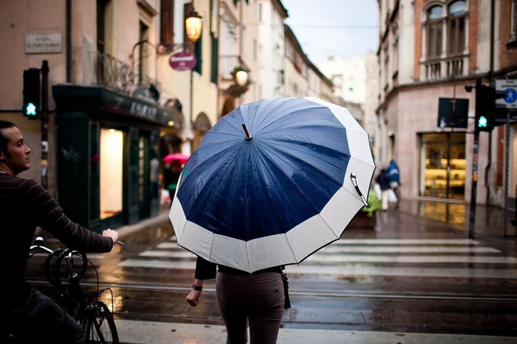 Под зонтом. (Luca Moglia)
