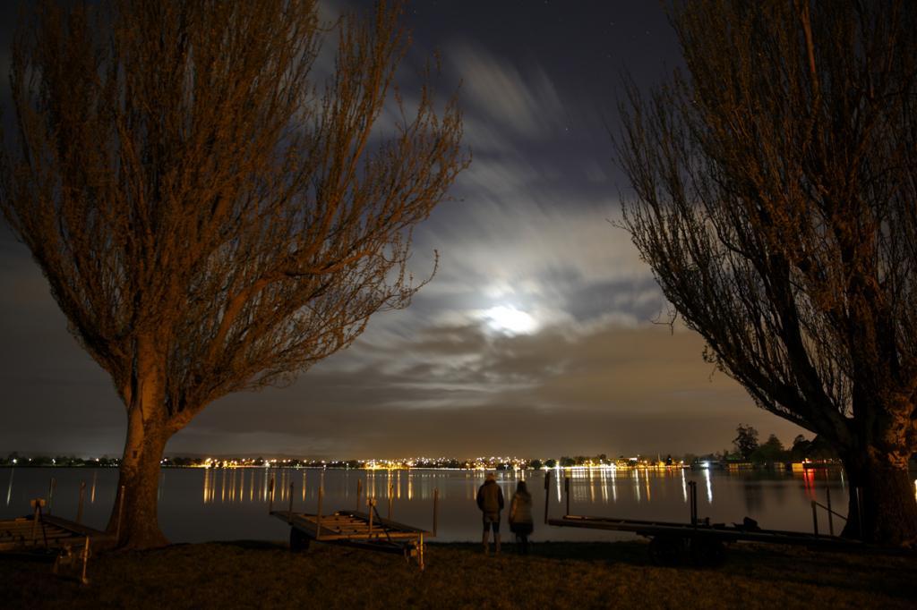 Лунное затмение. (Ed Dunens)