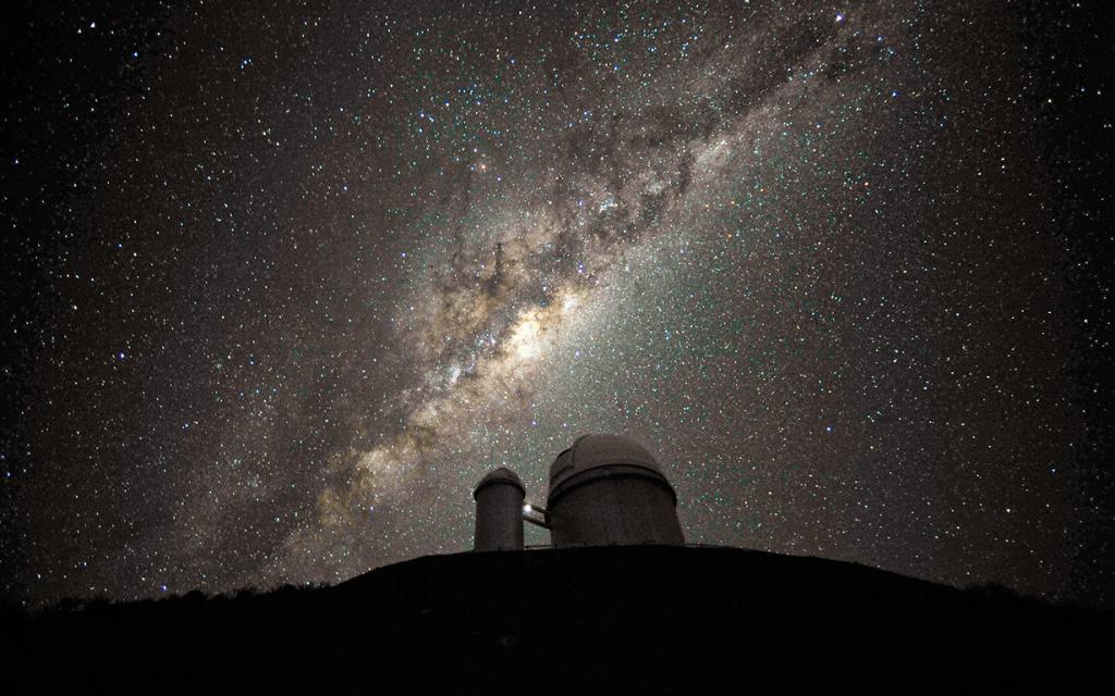 Млечный Путь. (ESO/S. Brunier)