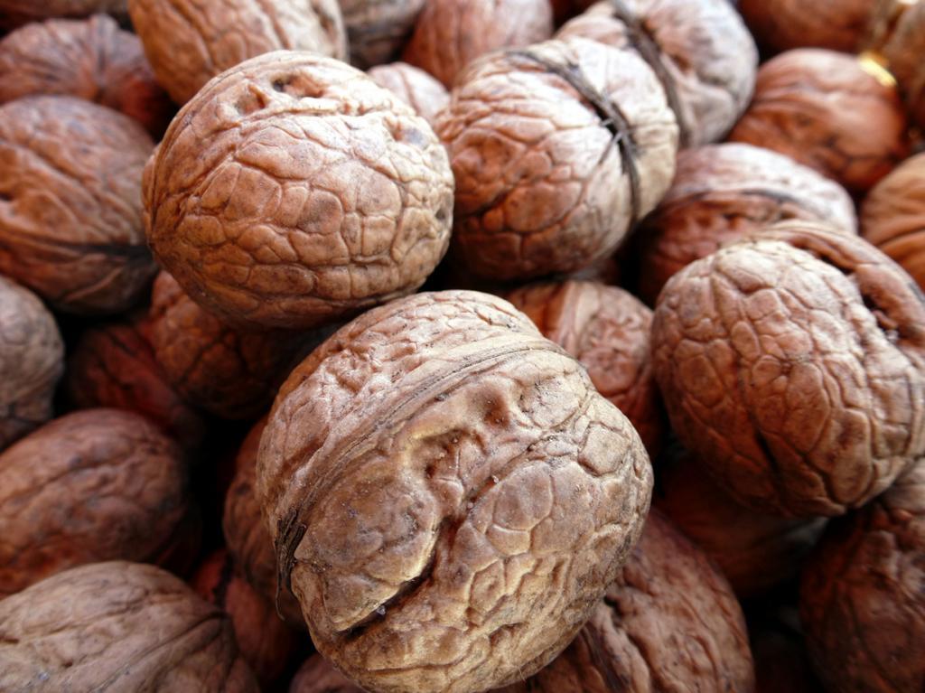 Орехи. Содержат витамины B1, B2, C, PP, а также железо, медь, кобальт, марганец. (das_butzele)