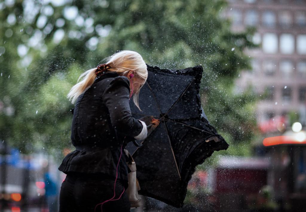 Под зонтом. (Ulf Bodin)