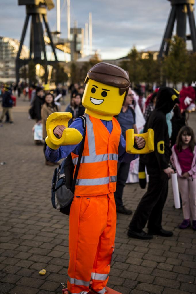 Comic Con 2014 в Лондоне (16 фото)