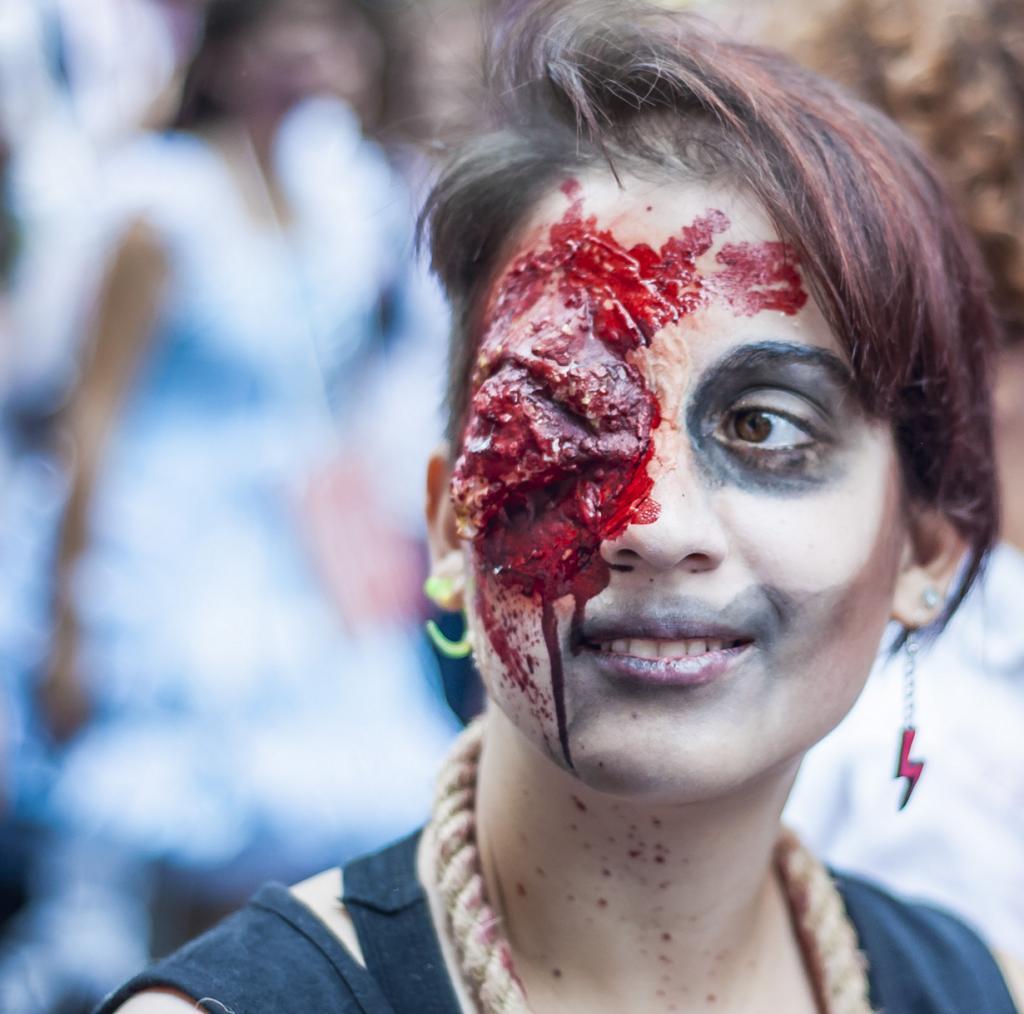 Зомби-моб 2014 в Турине (13 фото)