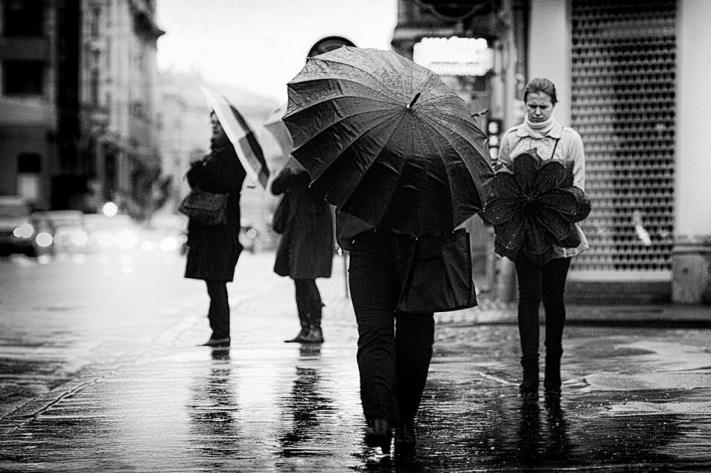 Под зонтом. (Sergejs Babikovs)