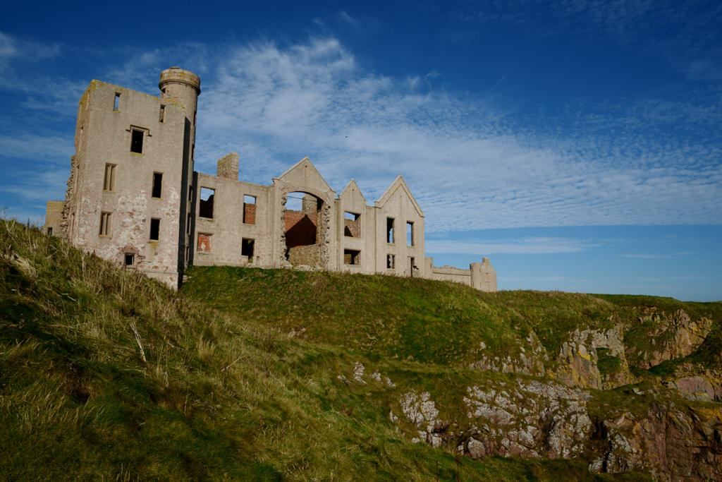 Шотландия. Абердиншир. Замок Слэйнс. (B Campbell)