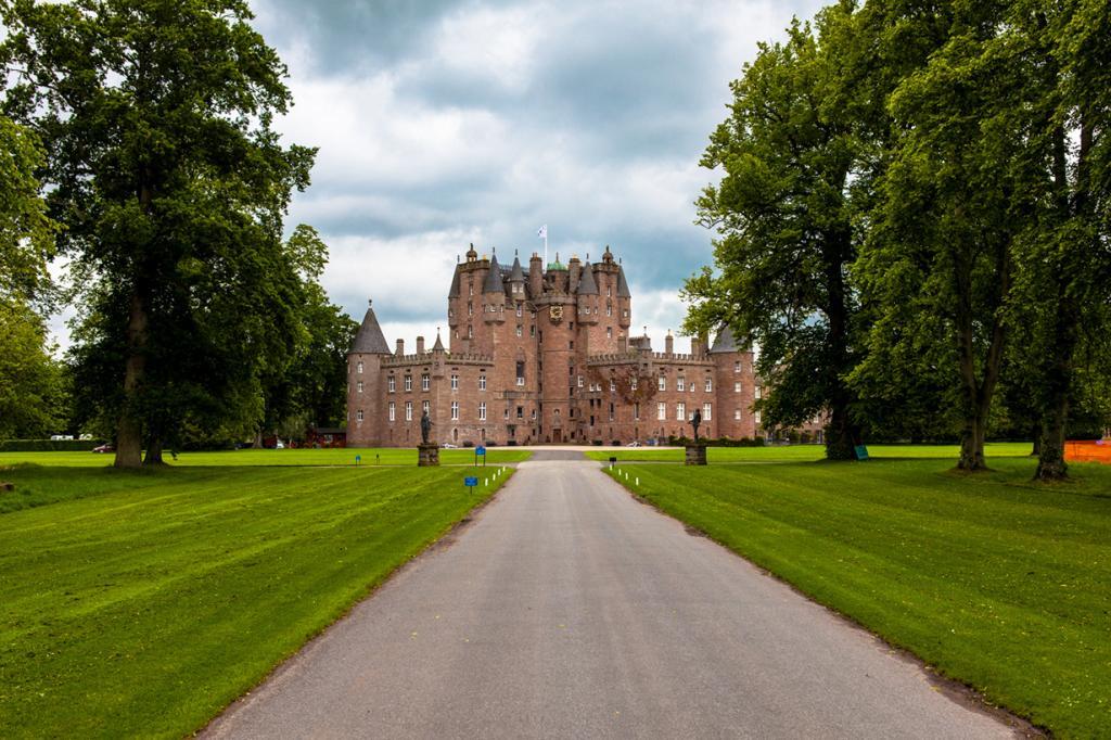 Шотландия. Ангус. Замок Гламз. (James Everett)
