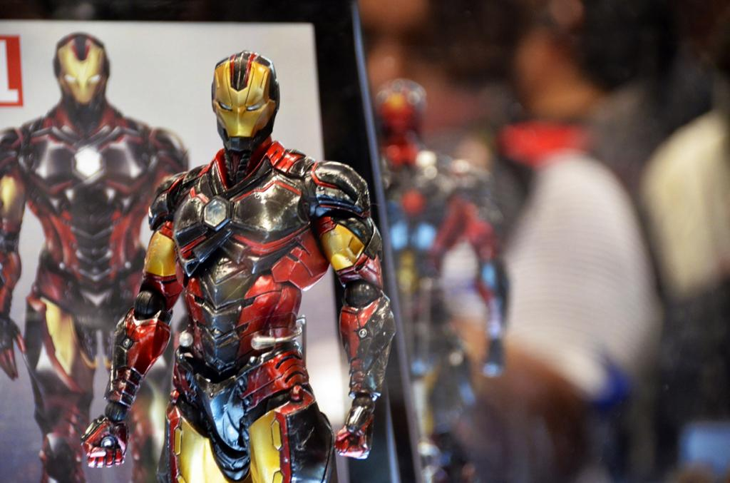 США. Нью-Йорк. 9 октября. Во время фестиваля New York Comic Con 2014. (Tasayu Tasnaphun)