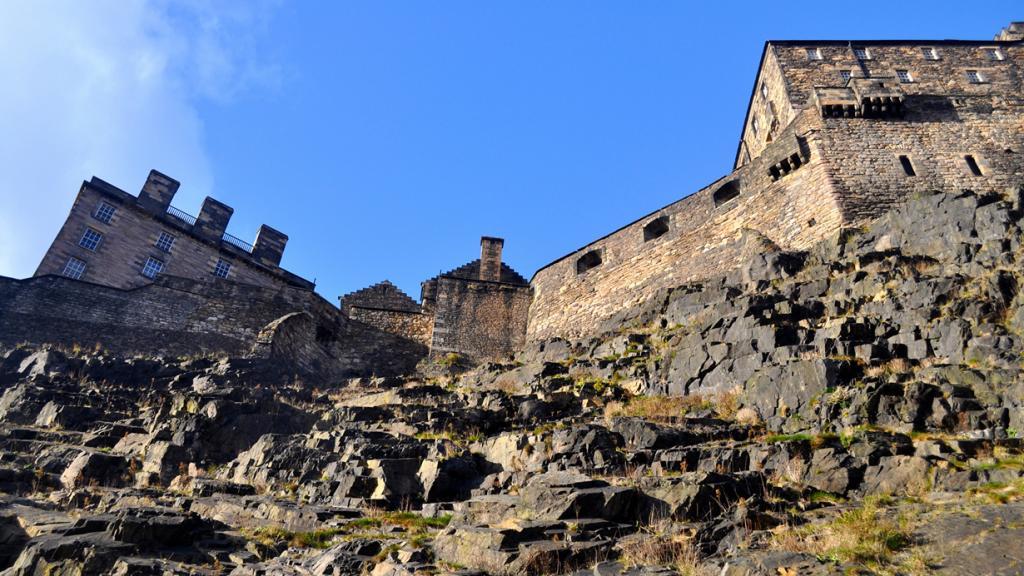 Шотландия. Эдинбург. Эдинбургский замок. (David McKelvey)