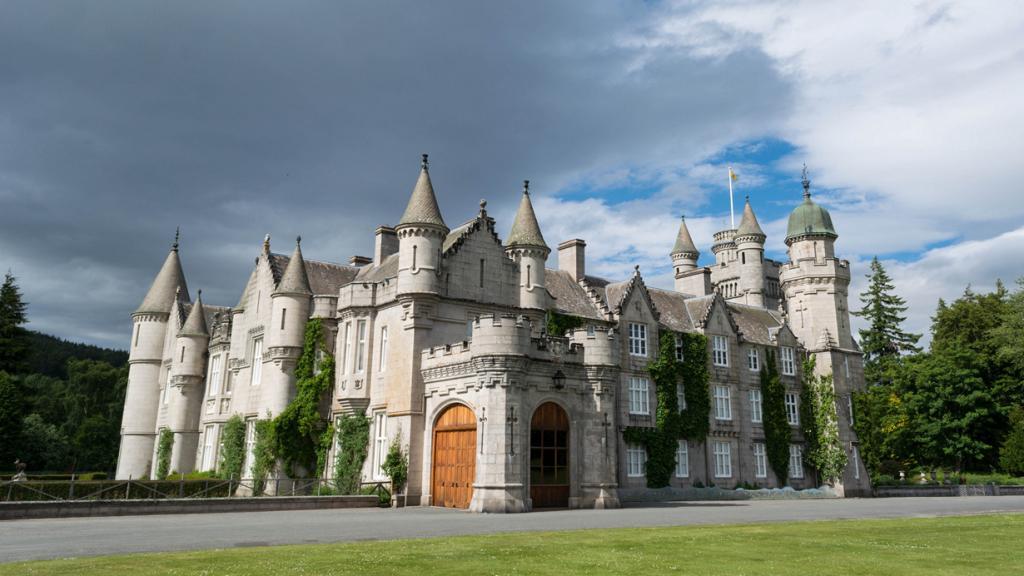Шотландия. Абердиншир. Замок Балморал. (Andrew DeCandis)
