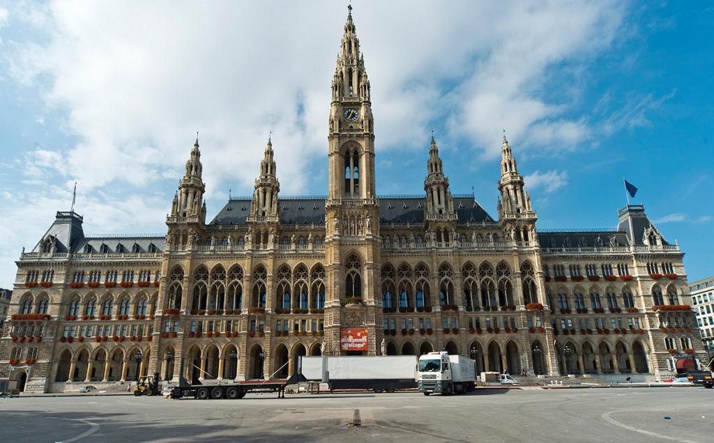 Венская ратуша. (Steve Collis)