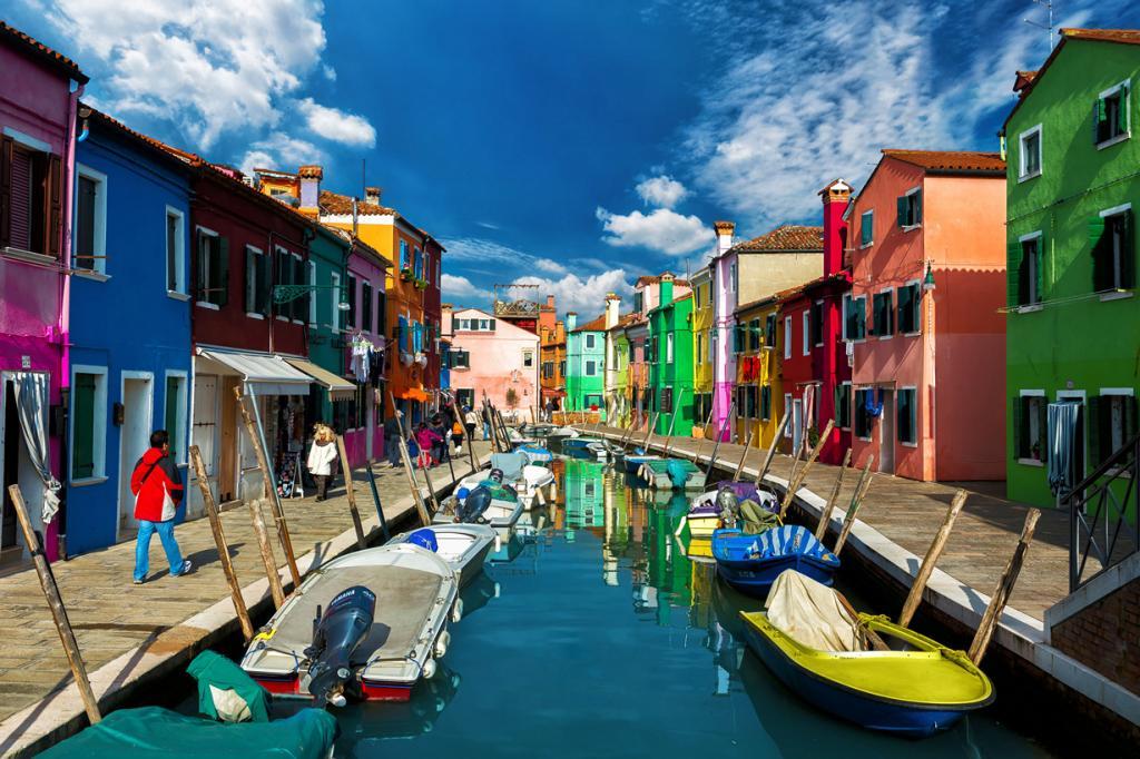Италия. Бурано, Венеция. (Nick Moulds)