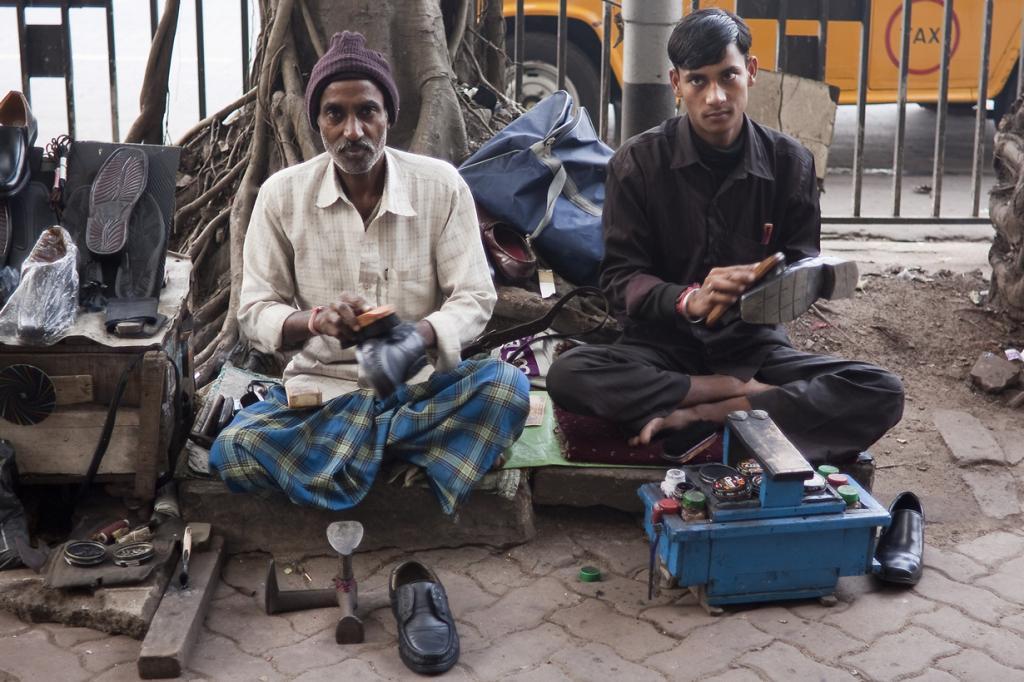 Индия. Калькутта, Западная Бенгалия. Повседневная жизнь. (¡kuba!)