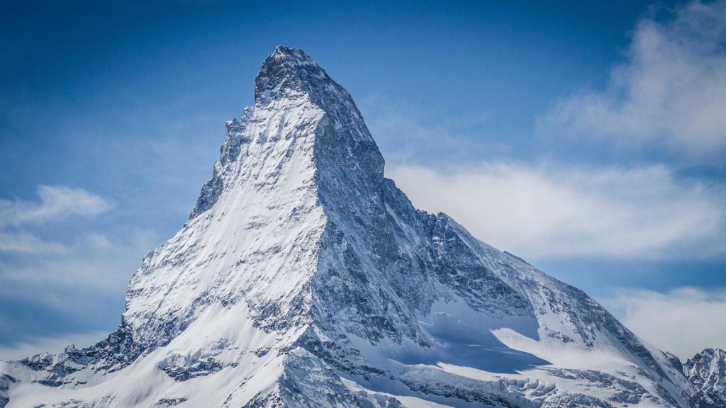 Церматт, кантон Вале. Гора Маттерхорн. (Valais Wallis)