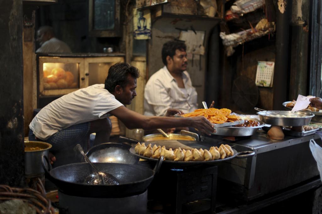 Индия. Калькутта, Западная Бенгалия. Повседневная жизнь. (Nicolas Mirguet)