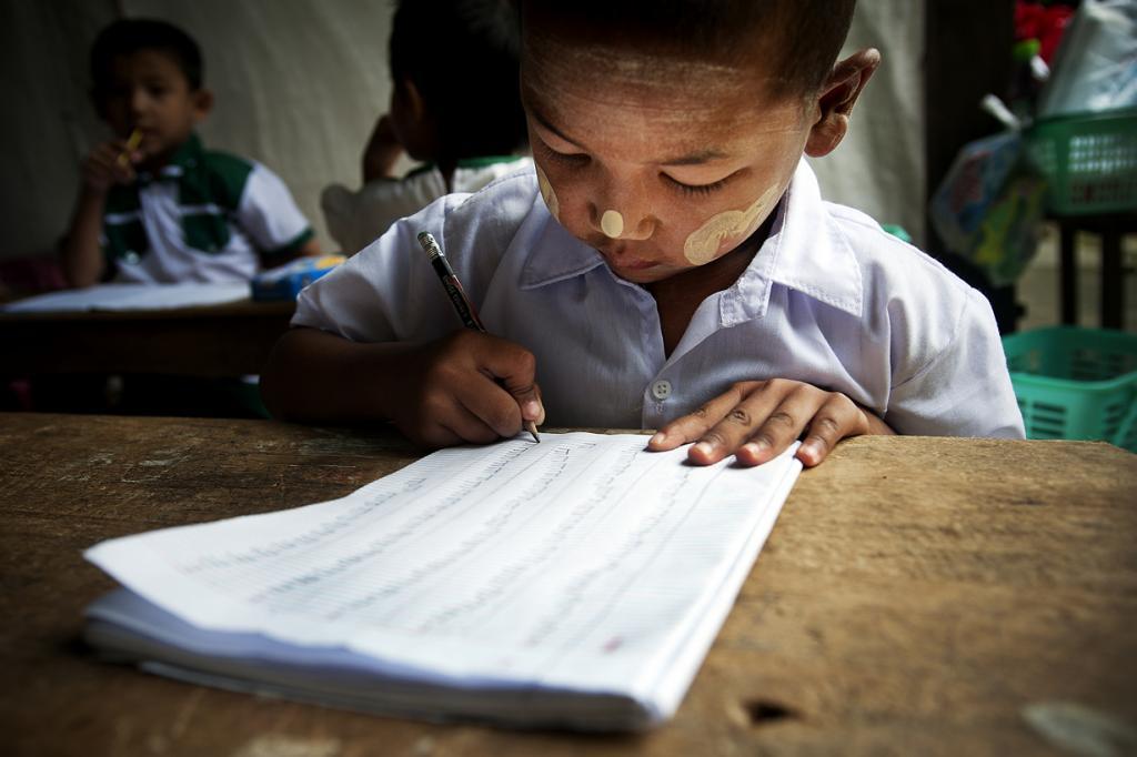 Мьянма. Тачайлейк. (United Nations Photo)