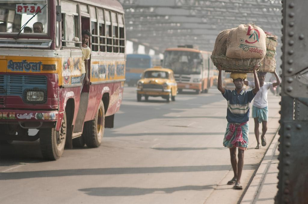 Индия. Калькутта, Западная Бенгалия. Повседневная жизнь. (M M)