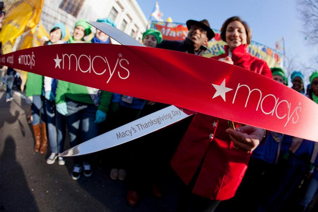 Во время парада в честь Дня благодарения. (Anthony Quintano)
