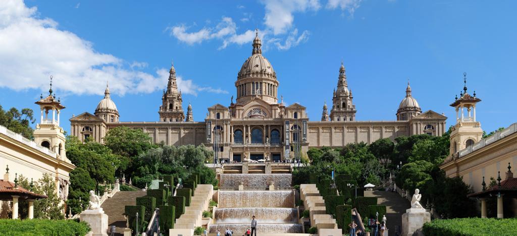 1 место. Барселона. Национальный дворец. (Felix König)