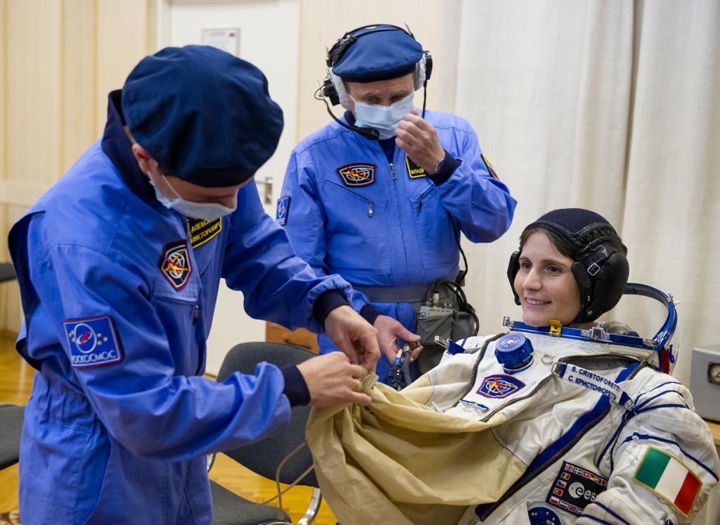 МКС-42. (NASA/GCTC/Andrey Shelepin)