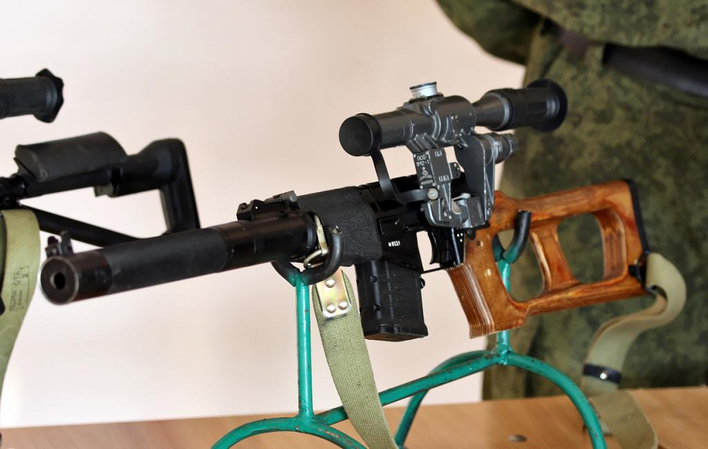 2 место. Снайперская винтовка Винторез. Разработана в СССР. (Vitaly V. Kuzmin)