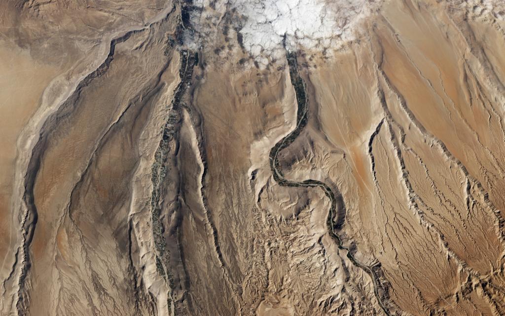 Чили. Пустыня Атакама. (NASA Goddard Space Flight Center)