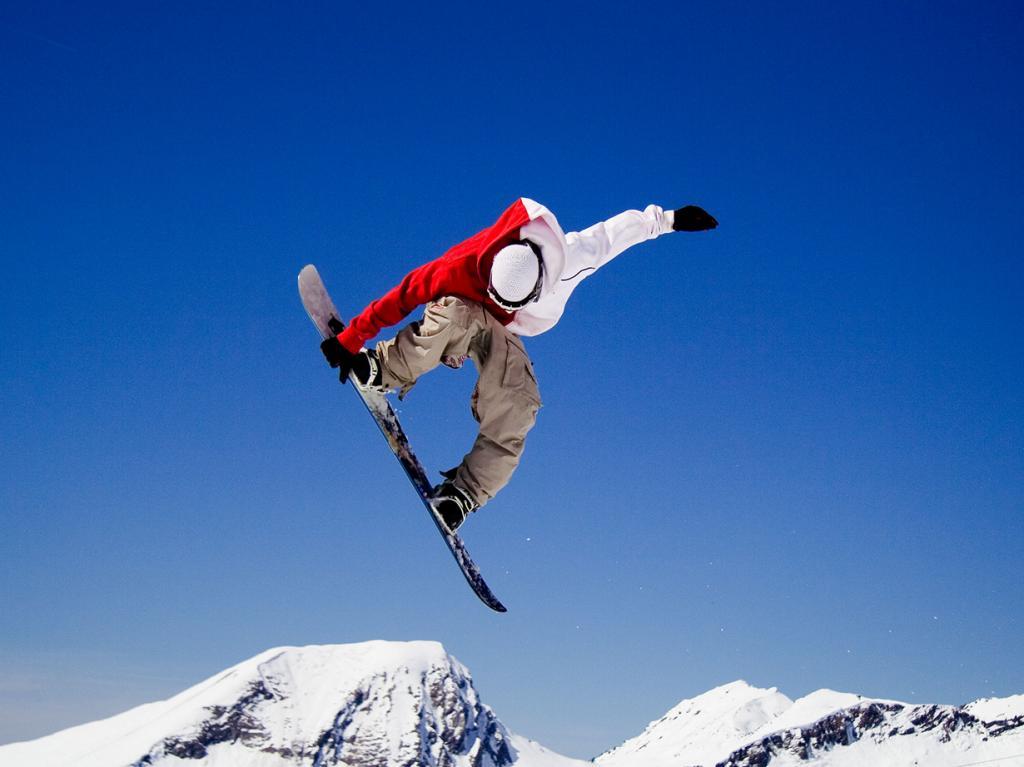 Сноубординг. (Matt Biddulph)