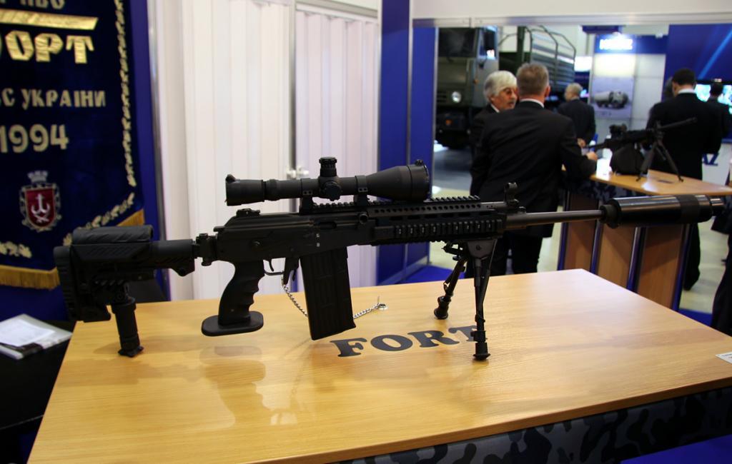 10 место. Снайперская винтовка Galil sniper. Разработана в Израиле. (Vitaly V. Kuzmin.)