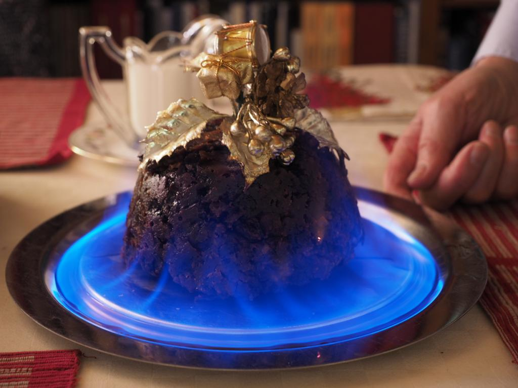 Рождественский пудинг. (James Petts)