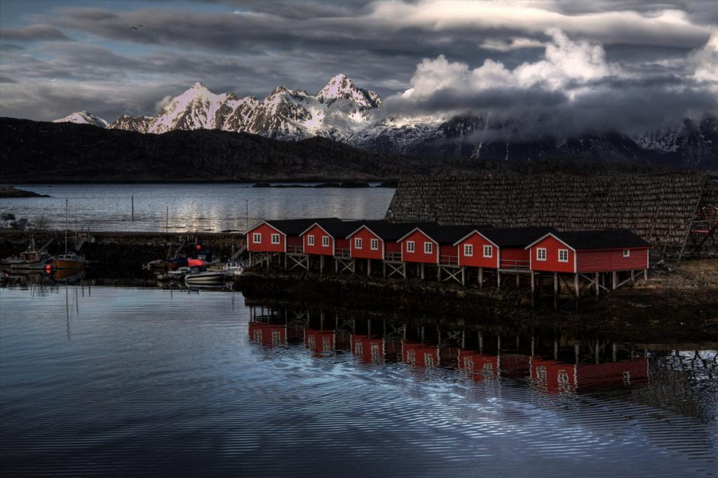 Норвегия. Лофотенские острова. (Florian Seiffert)
