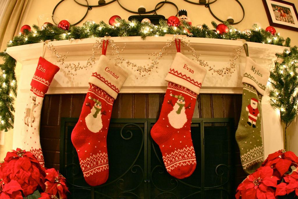 Рождественские носки. (Myles Grant)
