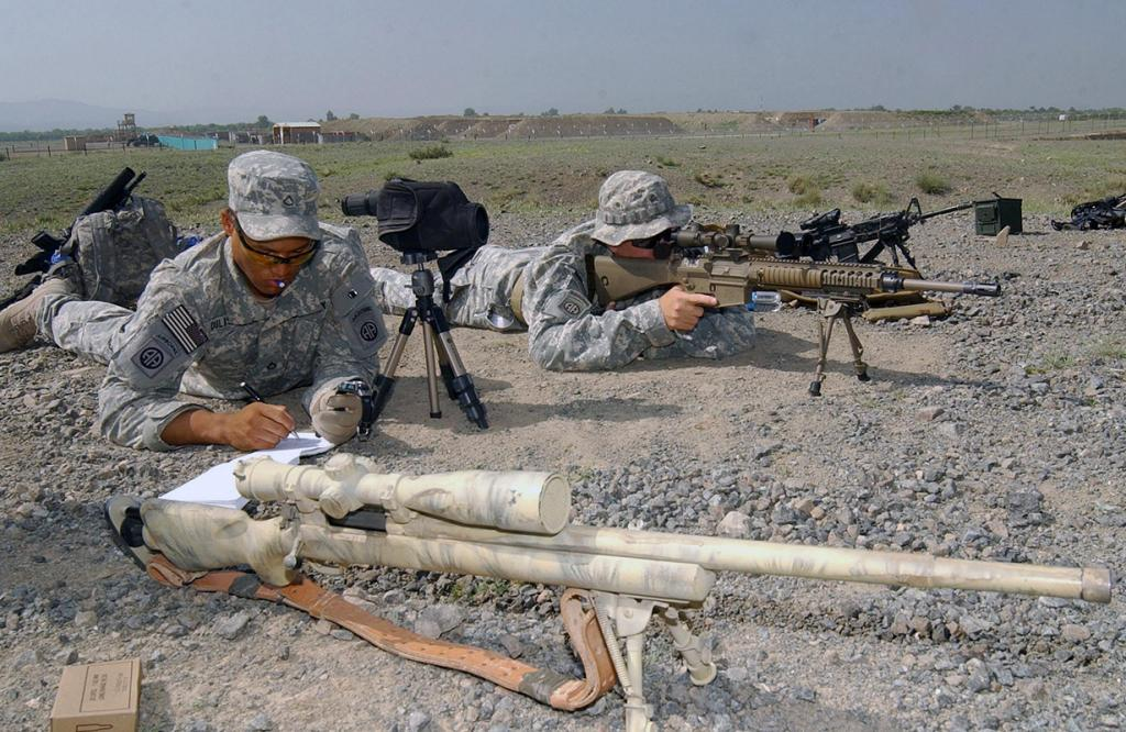 5 место. Снайперская винтовка M110. Разработана в США. (Spc. Matthew Leary)