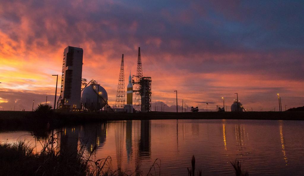 США. Канаверал, Флорида. Корабль многоразового использования Orion. (NASA/Bill Ingalls)
