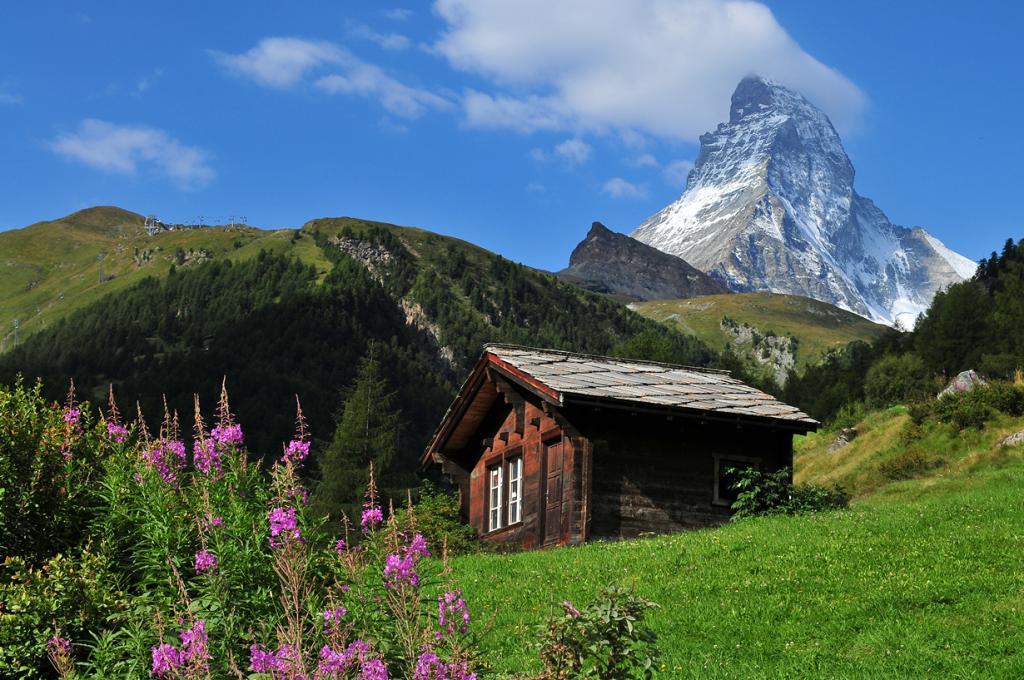 4 место. Швейцария. Церматт. (Juan Rubiano)