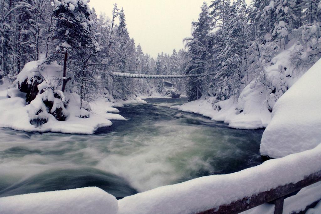 Финляндия. Национальный парк Оуланка. (purplespace)
