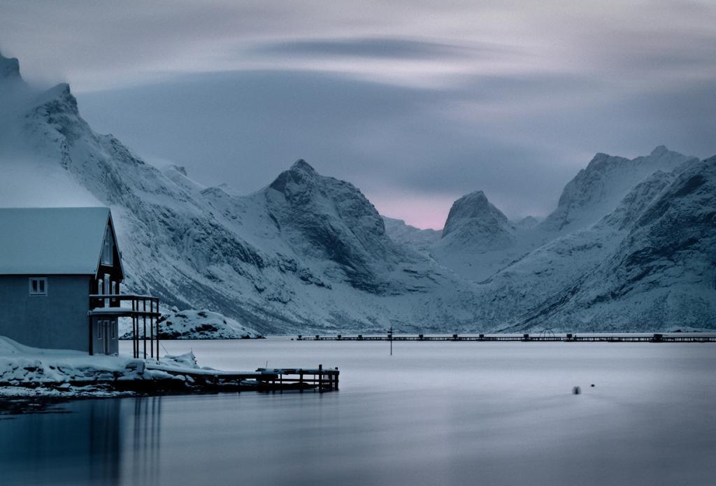 Норвегия. Лофотенские острова. (Mike Green)