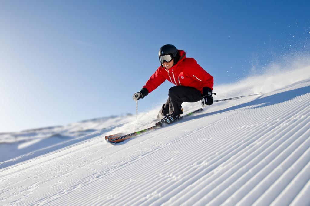 Катание на лыжах. (Trysil)
