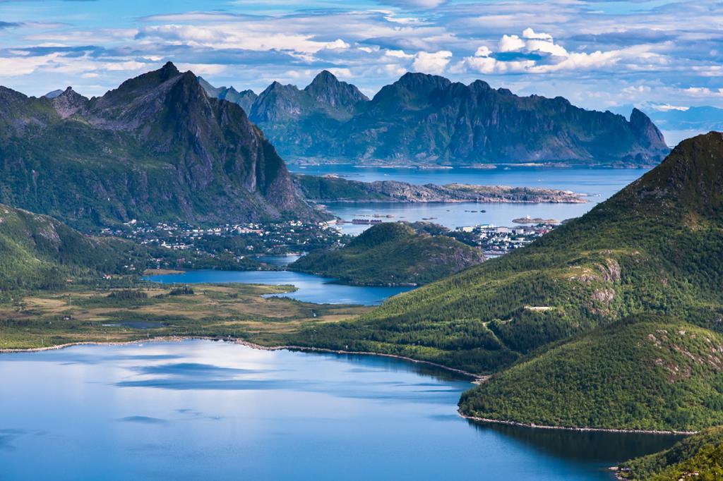 Красота Норвегии. Путешествие по Лофотенским островам