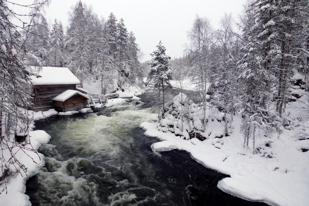Национальный парк Оуланка. Красота северной Финляндии