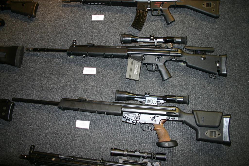 8 место. Снайперская винтовка HK PSG. Разработана в Германии. (Geckcgt)