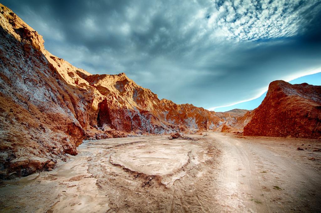 Чили. Пустыня Атакама. (Tom Goskar)