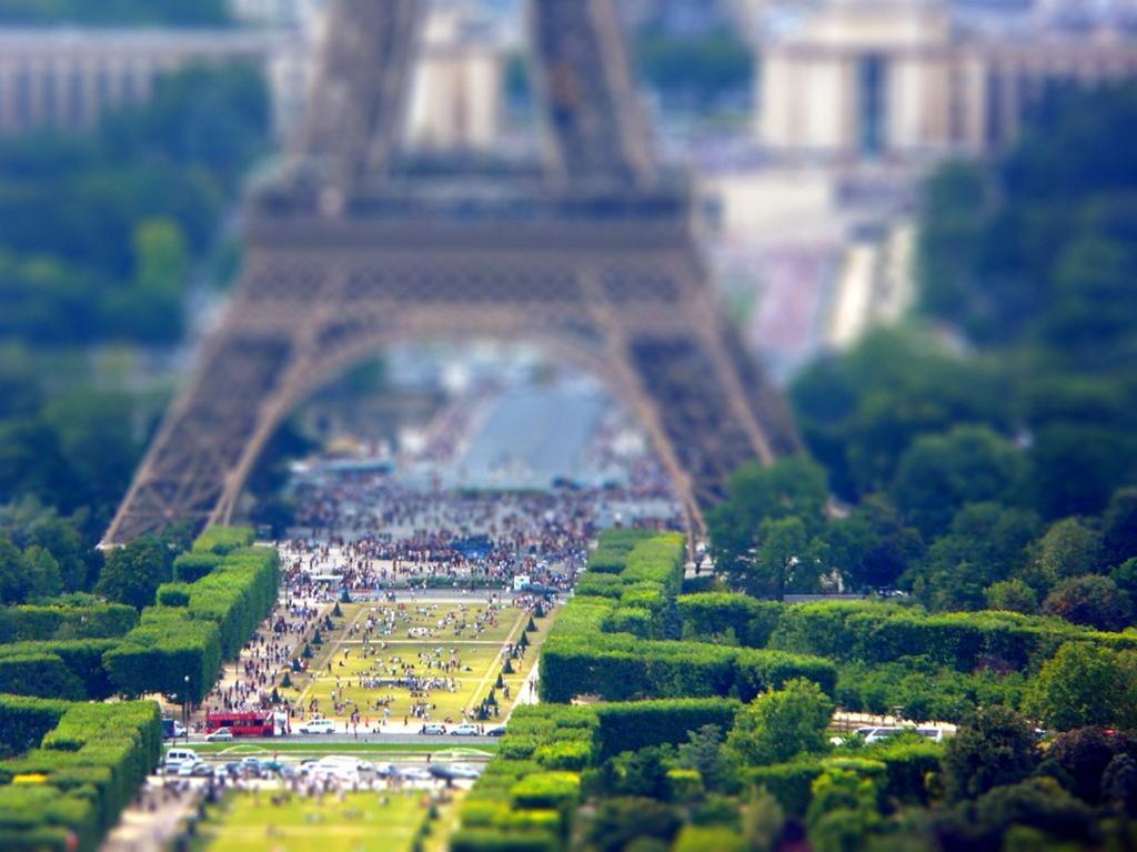 Франция. Париж. (Tedd Santana)