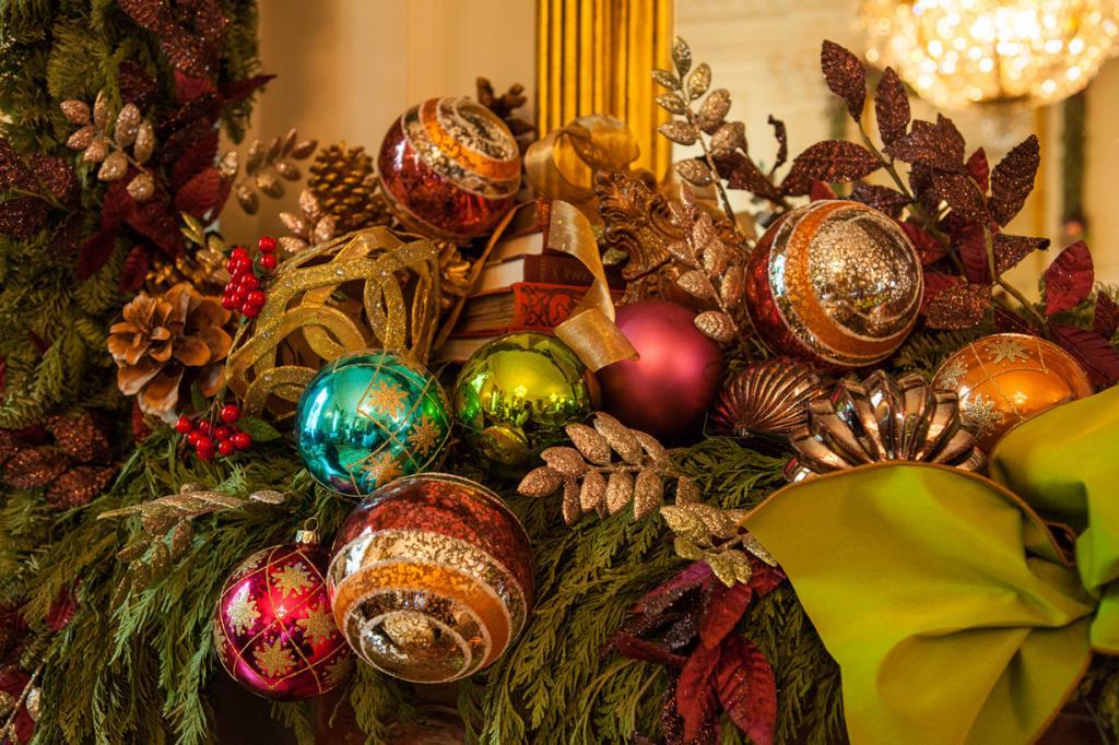 США. Вашингтон. Белый дом в преддверии Рождества. (Anthony Quintano)
