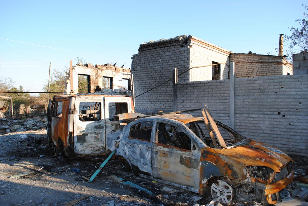 Восток Украины. Военный конфликт продолжается с апреля 2014 года. (Reporteros Tercerainformacion)
