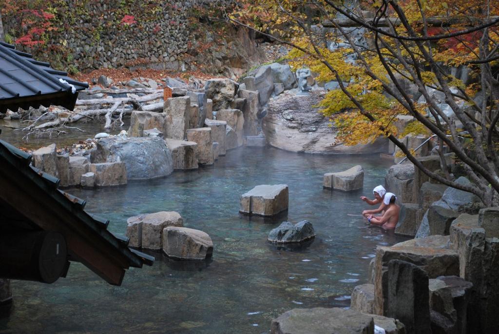 9 место. Япония, Гумма. Термальный курорт Takaragawa Onsen. (olemiswebs)