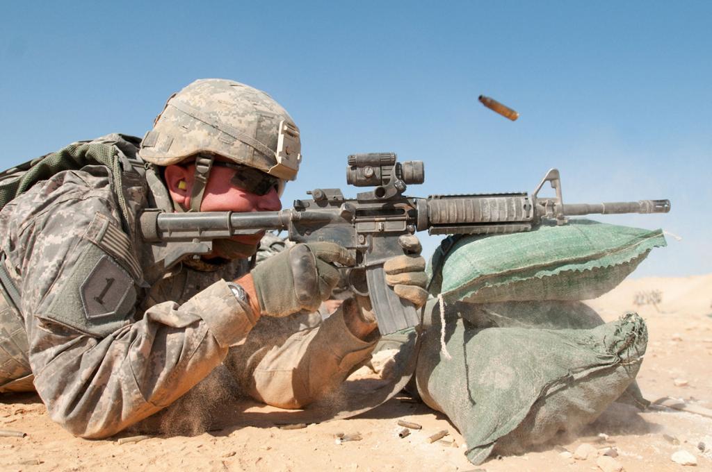 Ирак. Конфликт продолжается с декабря 2011 года. Гражданская война в Ираке ведётся после вывода американских войск. (Spc. Michael MacLeod)