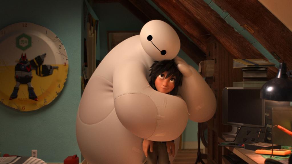 Номинант на премию «Лучший анимационный полнометражный фильм» «Город героев» студии Walt Disney Animation Studios. (Кадр из фильма)