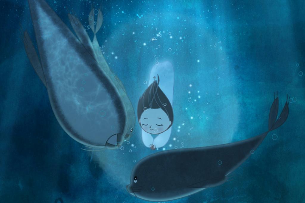 Номинант на премию «Лучший анимационный полнометражный фильм» «Песнь моря» студии Cartoon Saloon. (Кадр из фильма)