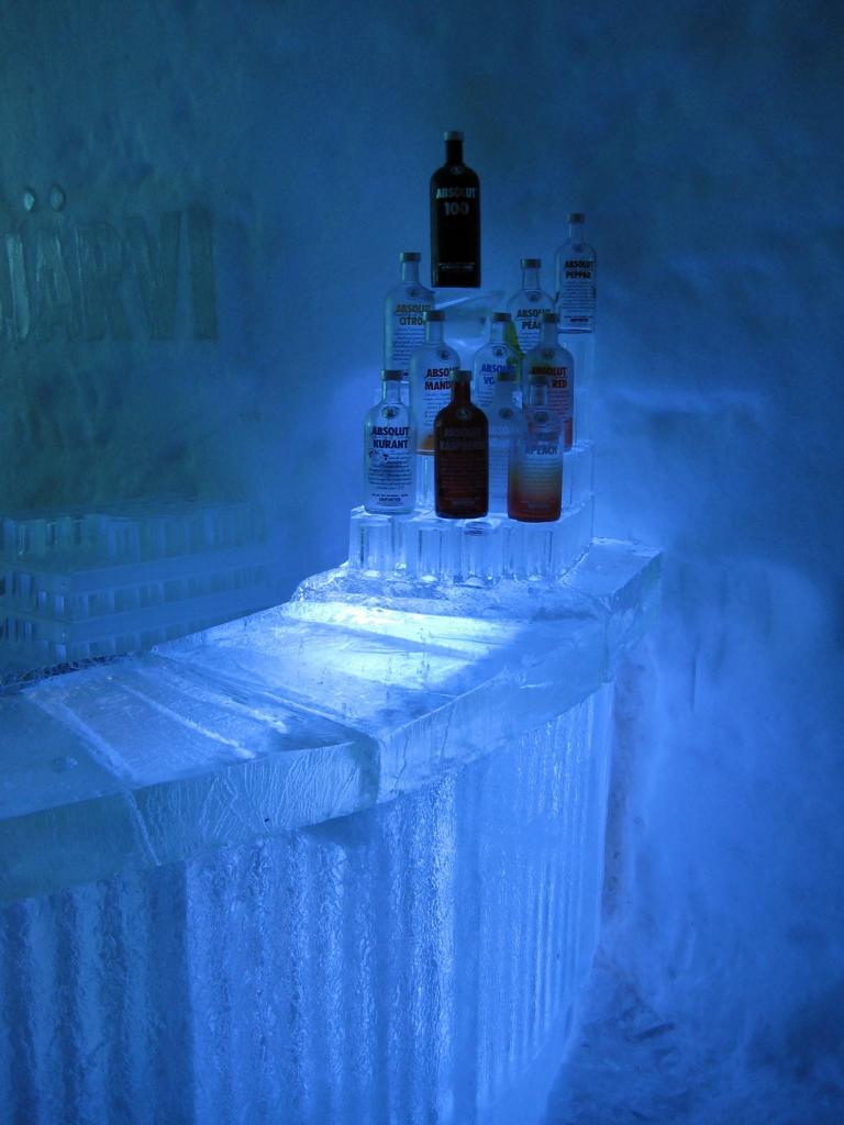 Швеция. Юккасъярви. Отель Icehotel. (Markus Bernet)