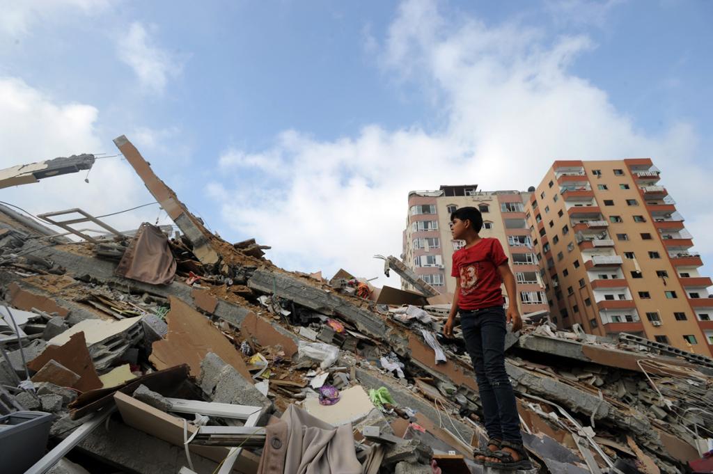 Газа. Арабо-израильский конфликт длится более 26 лет. Непосредственно военные действия в секторе Газа продолжаются с 2006 года. Так с 7 июля по 26 августа 2014 года правительством Израиля была проведена операция «Нерушимая скала». (UN Photo/Shareef Sarhan)