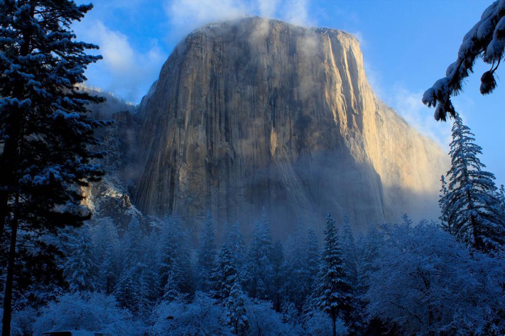 США. Национальный парк Йосемити, Калифорния. Гора Эль-Капитан. (n4rwhals)